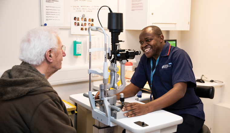Moorfields Eye Hospital secures multimillion pound government investment for new hospital project