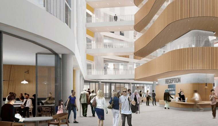 Centre stage: planning application submitted for world-leading eye care, research and education centre in Camden
